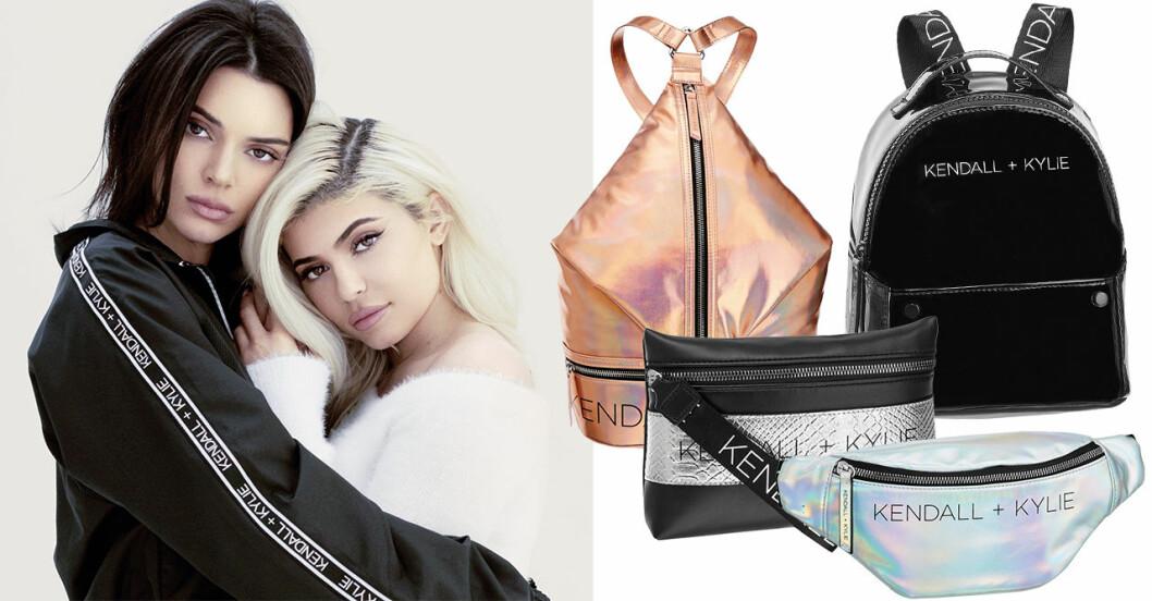 Kendall och Kylie Jenner släpper väskkollektion