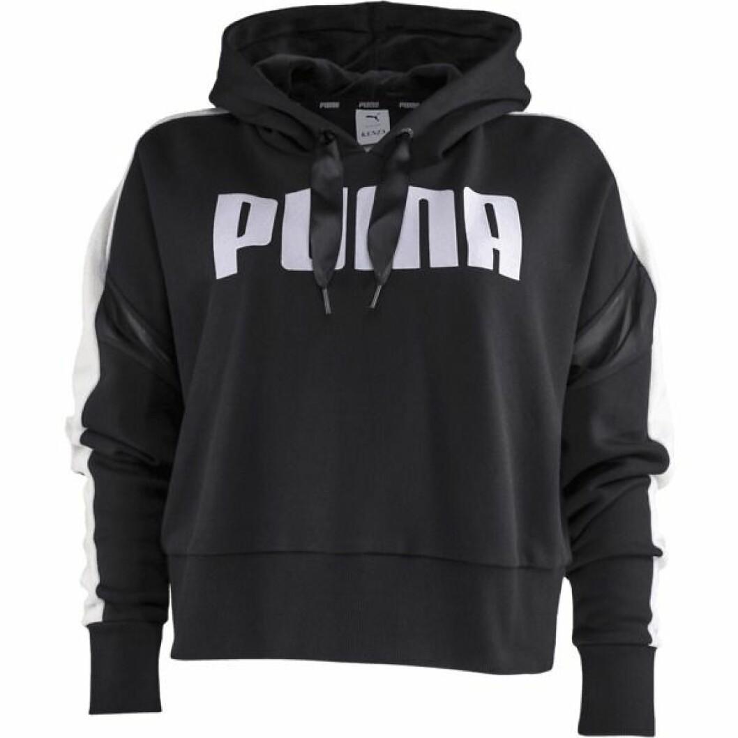 Svart hoodie från Puma x Kenza