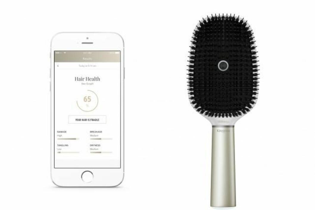 Den första smarta hårborsten lanseras under året.