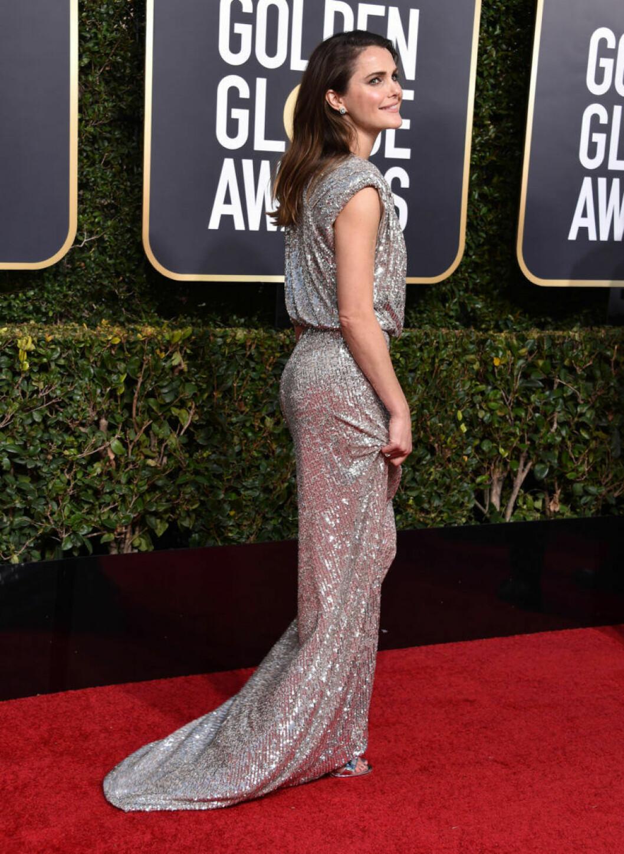 Keri Russell på röda mattan på Golden Globe