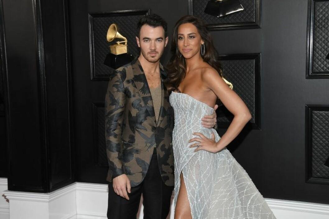 Kevin och Danielle Jonas Grammy Awards 2020