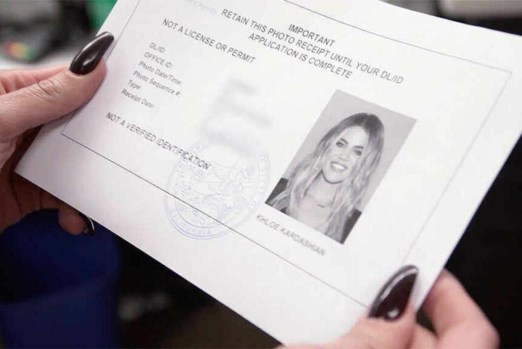 khloe kardashian nytt körkort