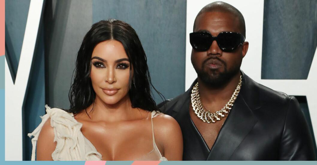 Kim Kardashian och Kanye West skiljer sig