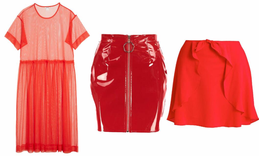 klanning och kjol