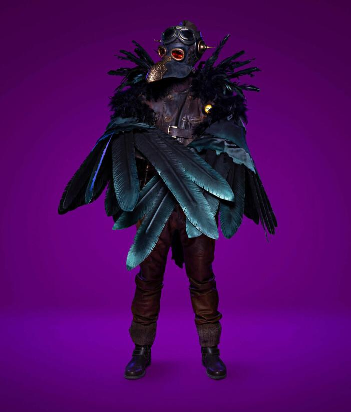Korpen i Masked Singer 2021