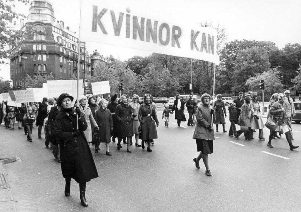 Kvinnor kan demonstration