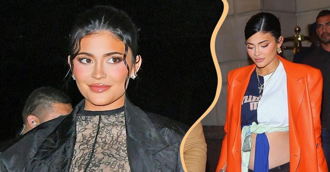 Första bilderna på Kylie Jenner efter att hon bekräftat graviditeten