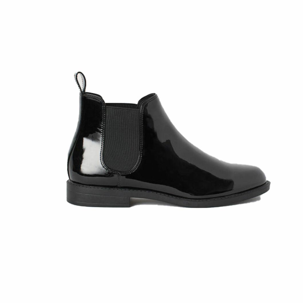 Svarta lackboots från H&M