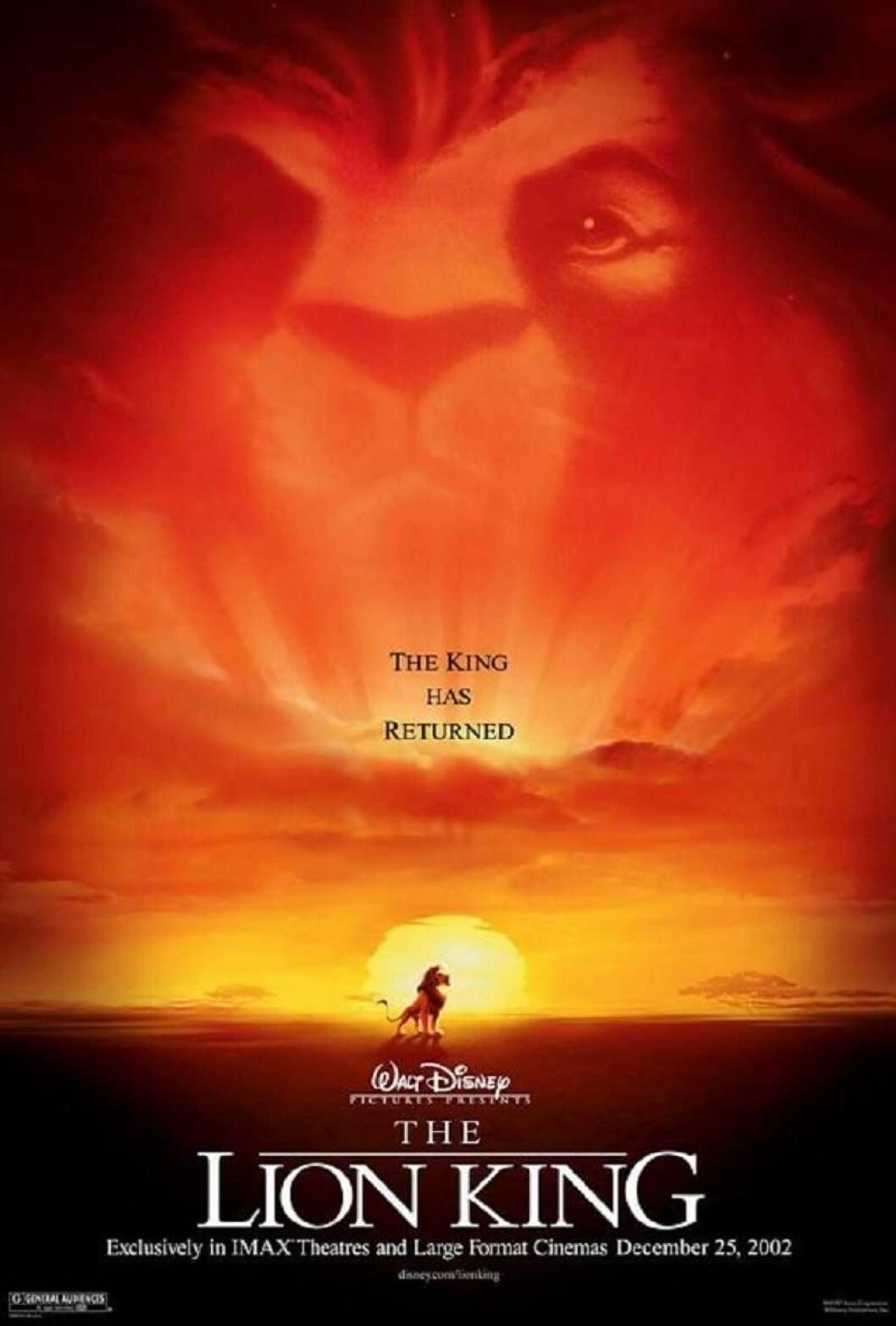en solnedgång med ett lejon i himlen