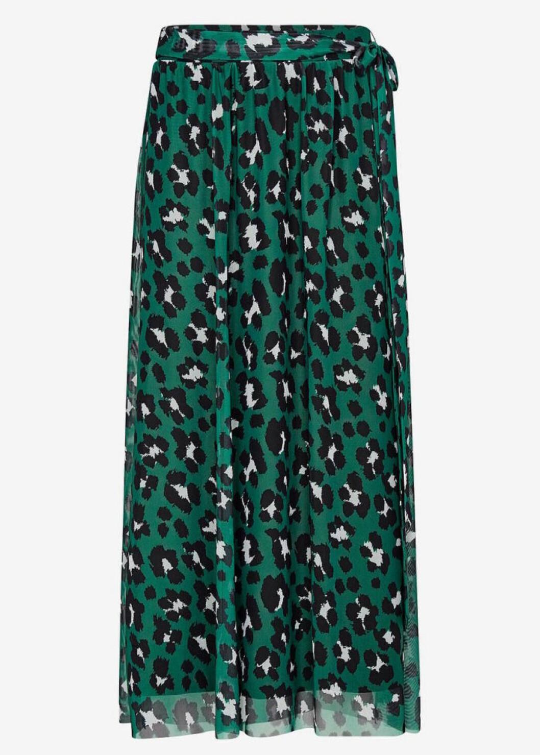 Leopardmönstrad kjol