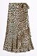 Leopardmönstrad kjol för dam till 2019