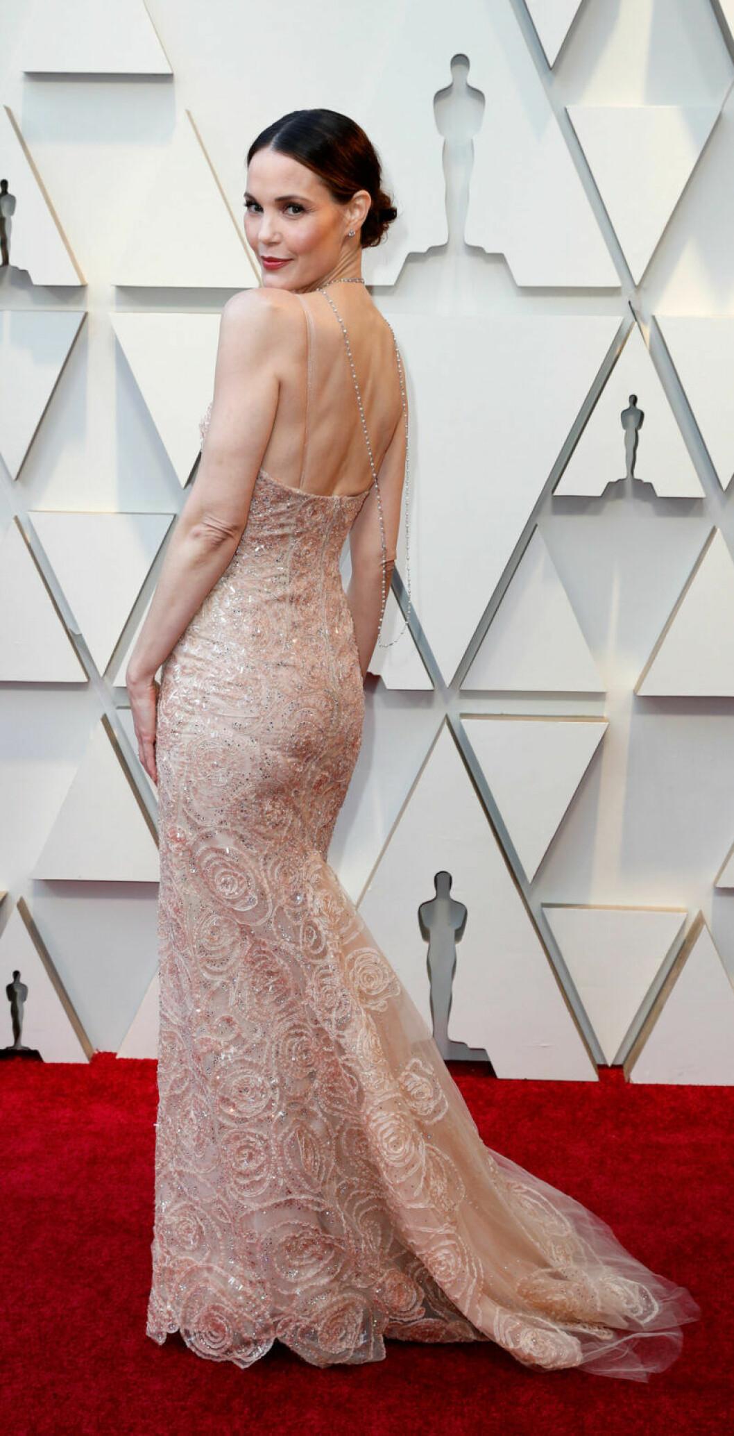 Leslie Bibb på Oscarsgalan 2019