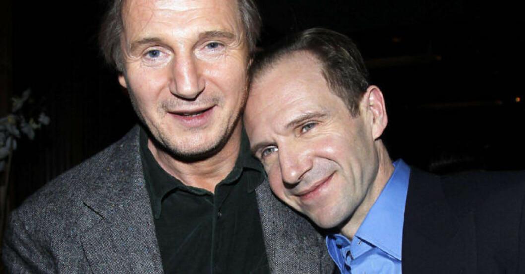 Liam Neeson och Ralph Fiennes