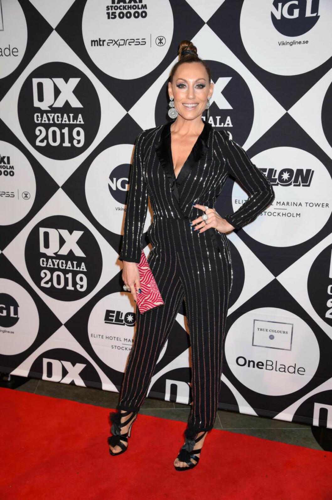 Linda Hedlund på QX-galan 2019