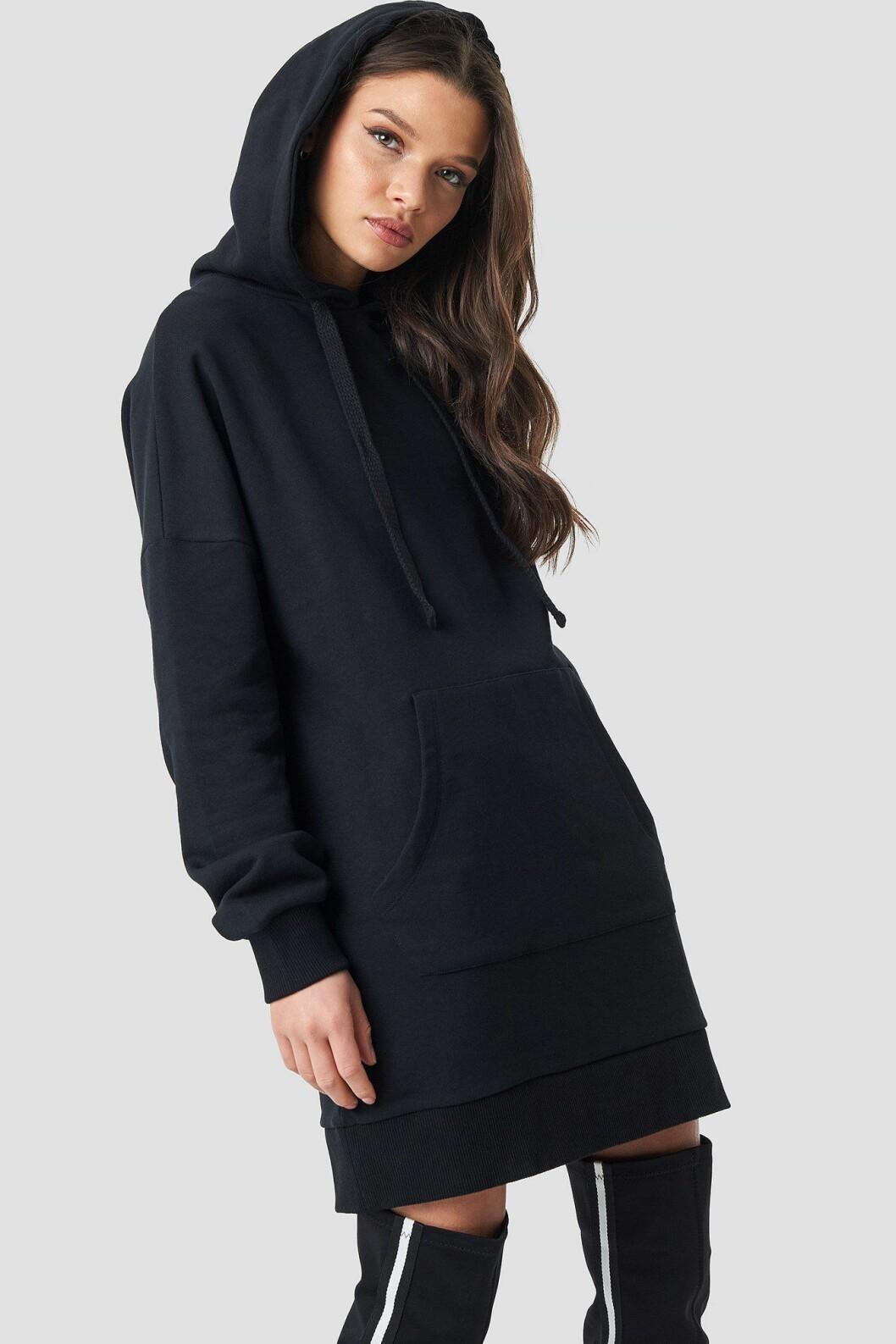 Linn Ahlborg Na-kd svart hoodie