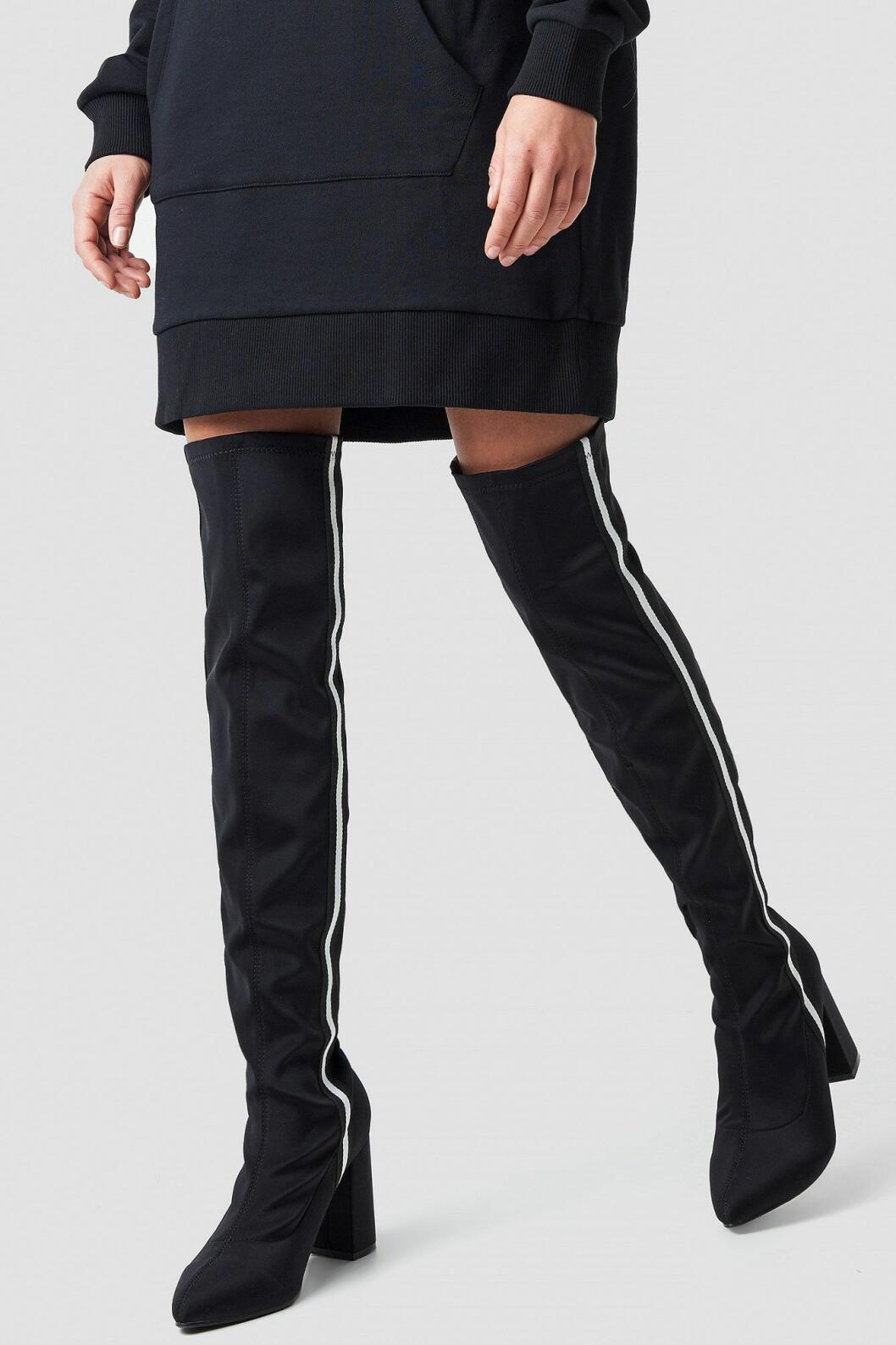 Linn Ahlborg Na-kd over knee-boots
