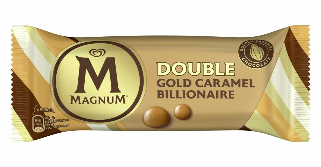 förpackningen till magnum guld