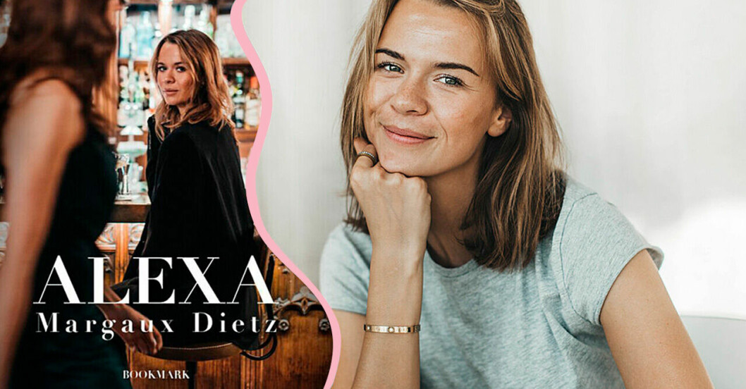 Influencern Margaux Dietz nya bok är den erotiska romanen Alexa.
