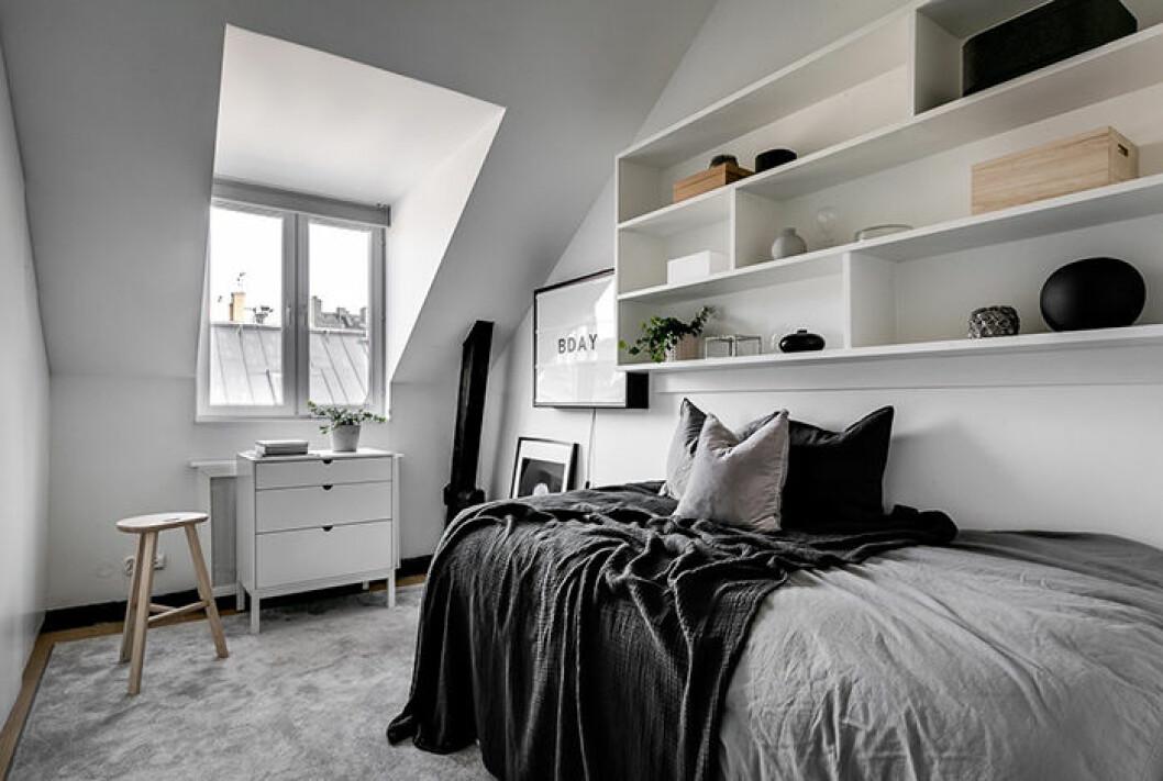 Margaux Dietz lägenhet –ett av sovrummen