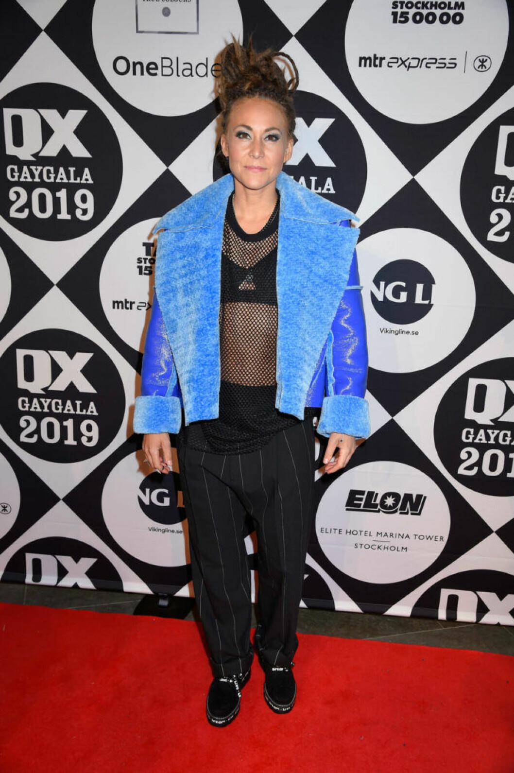 Mariette Hansson på QX-galan 2019
