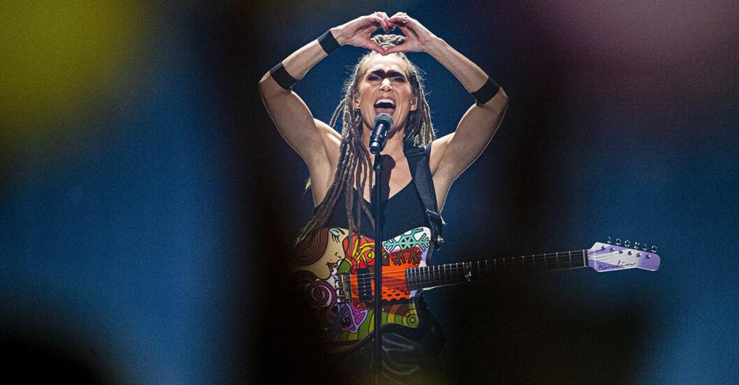 Mariette är en av finalisterna i Melodifestivalen 2020