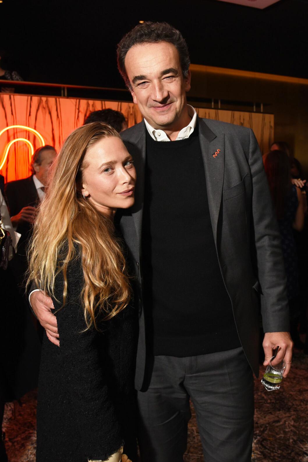 Mary-Kate Olsen och Olivier Sarkozy