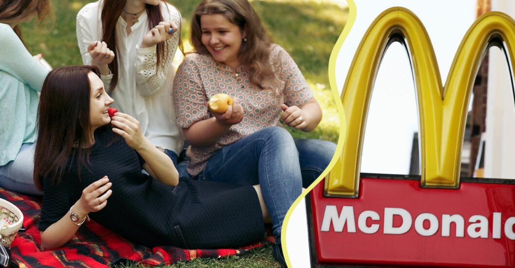 Mc Donalds picknick-filt