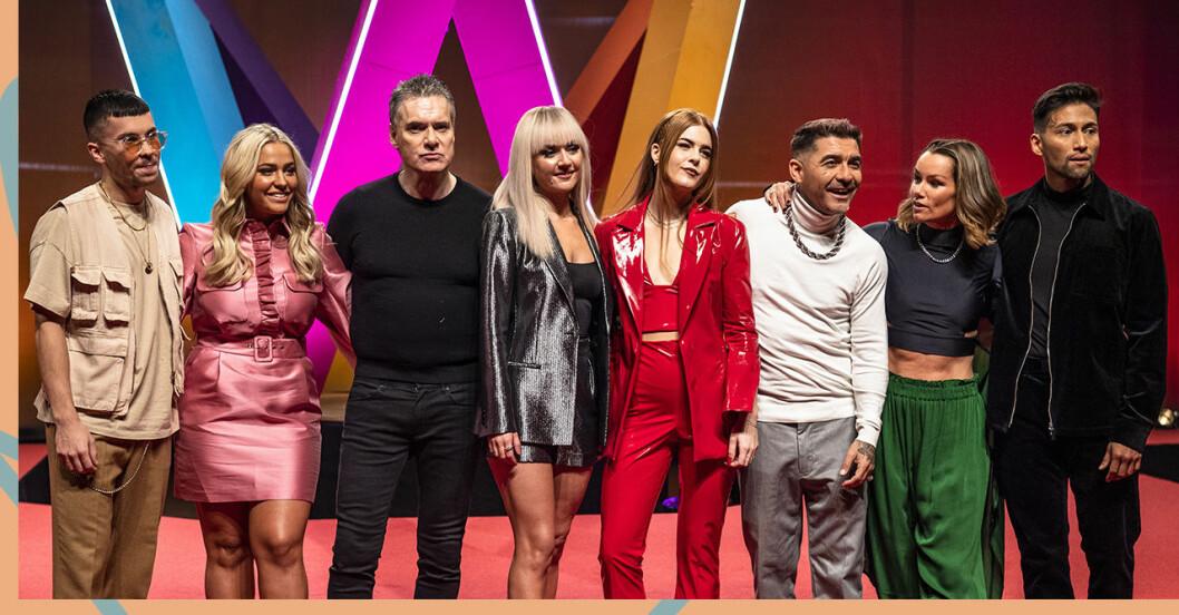 Veckans deltagare i Melodifestivalen