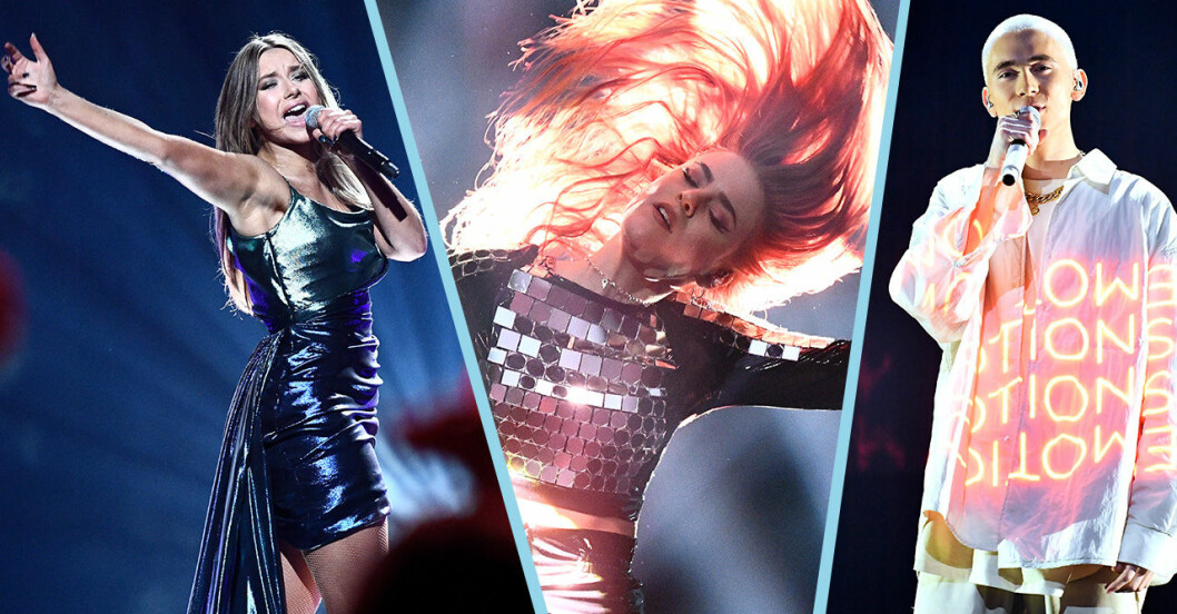 Alla finalister i Melodifestivalen 2020