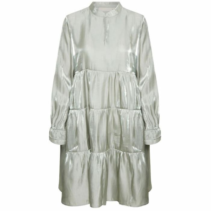 metallic klänning karen by simonsen