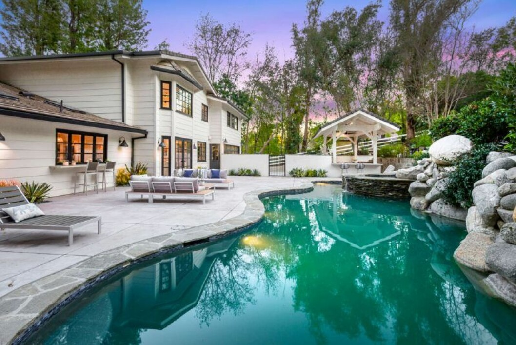 Bild på Mileys nya hus