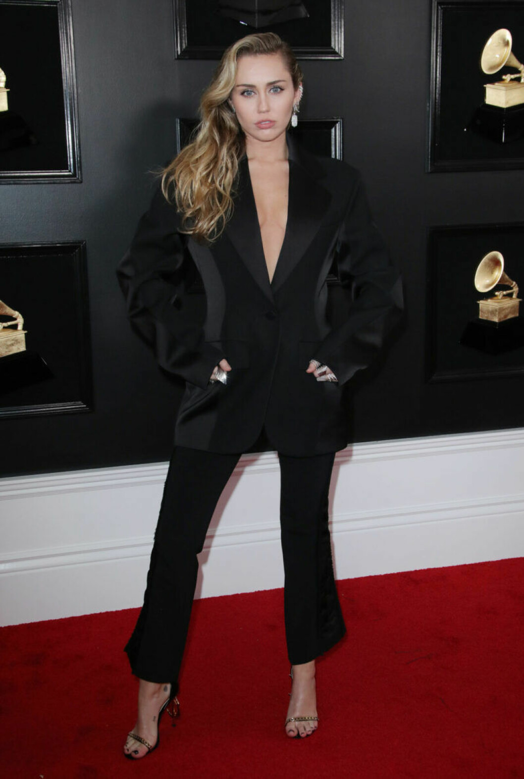 Miley Cyrus på Grammy Awards 2019