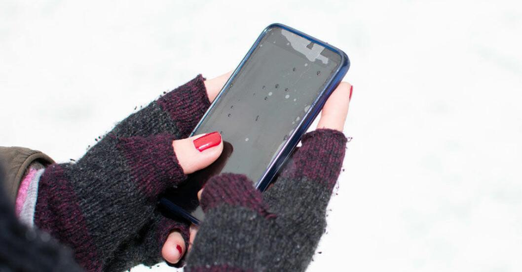 mobil-dor-kallt-ute