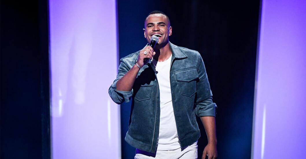 Mohombi är en av finalisterna i Melodifestivalen 2020