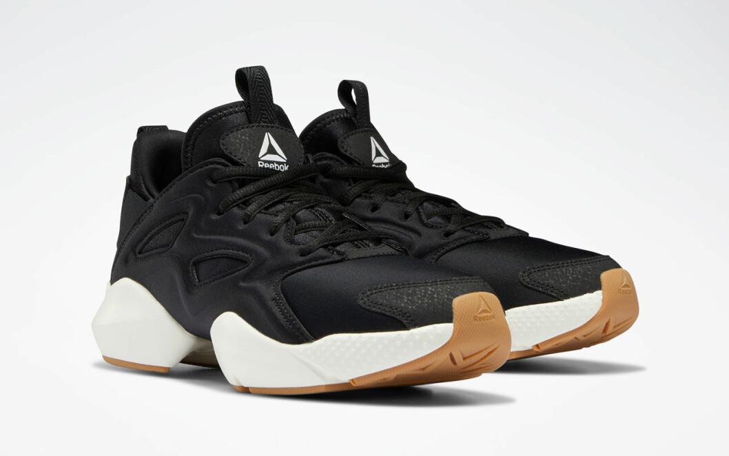 Svarta reebok sneakers
