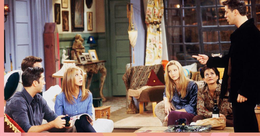Gänget hemma hos Monica