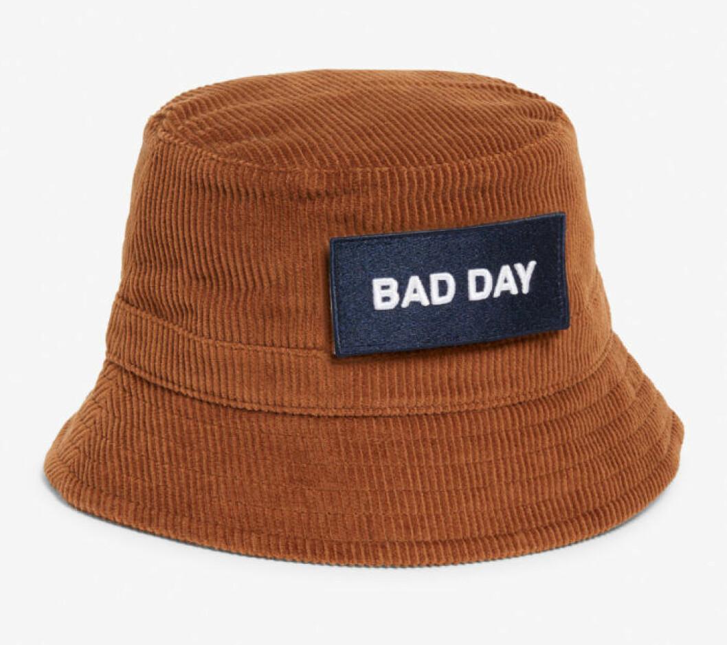 Brun hatt från Monki