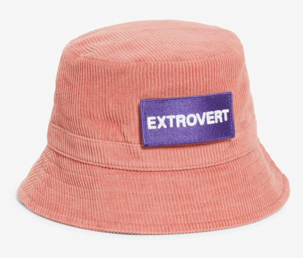 Rosa hatt från Monki