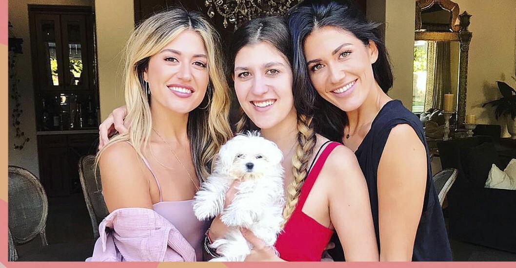 Sara, Hanna och Emma montazami