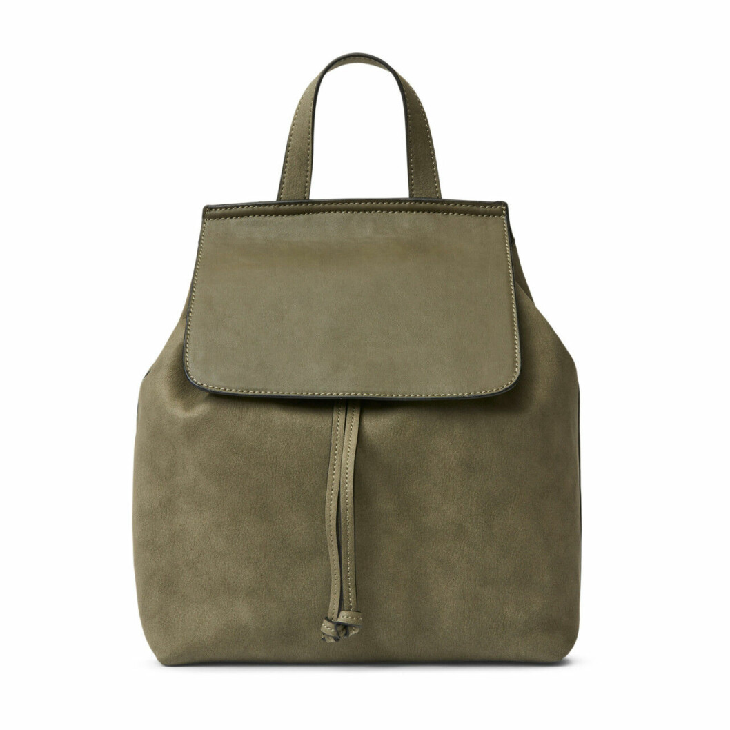 Grön ryggsäck från Åhlens