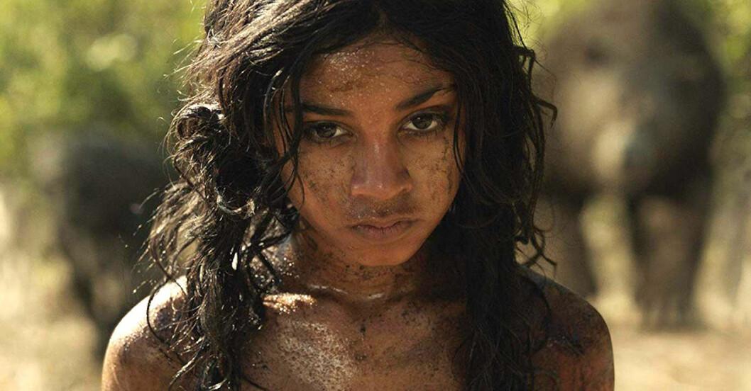 Mowgli i Djungelboken som kommer på Netflix i december.