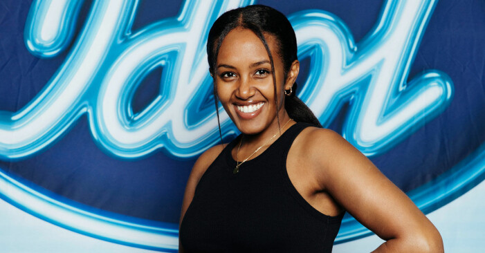 Nadja Holm i Idol 2020