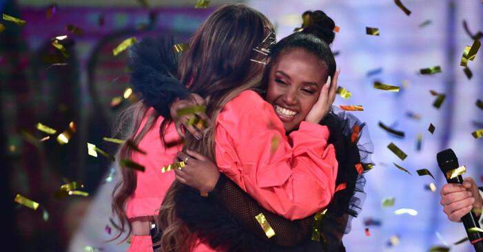 Nadja och Paulina i Idol 2020
