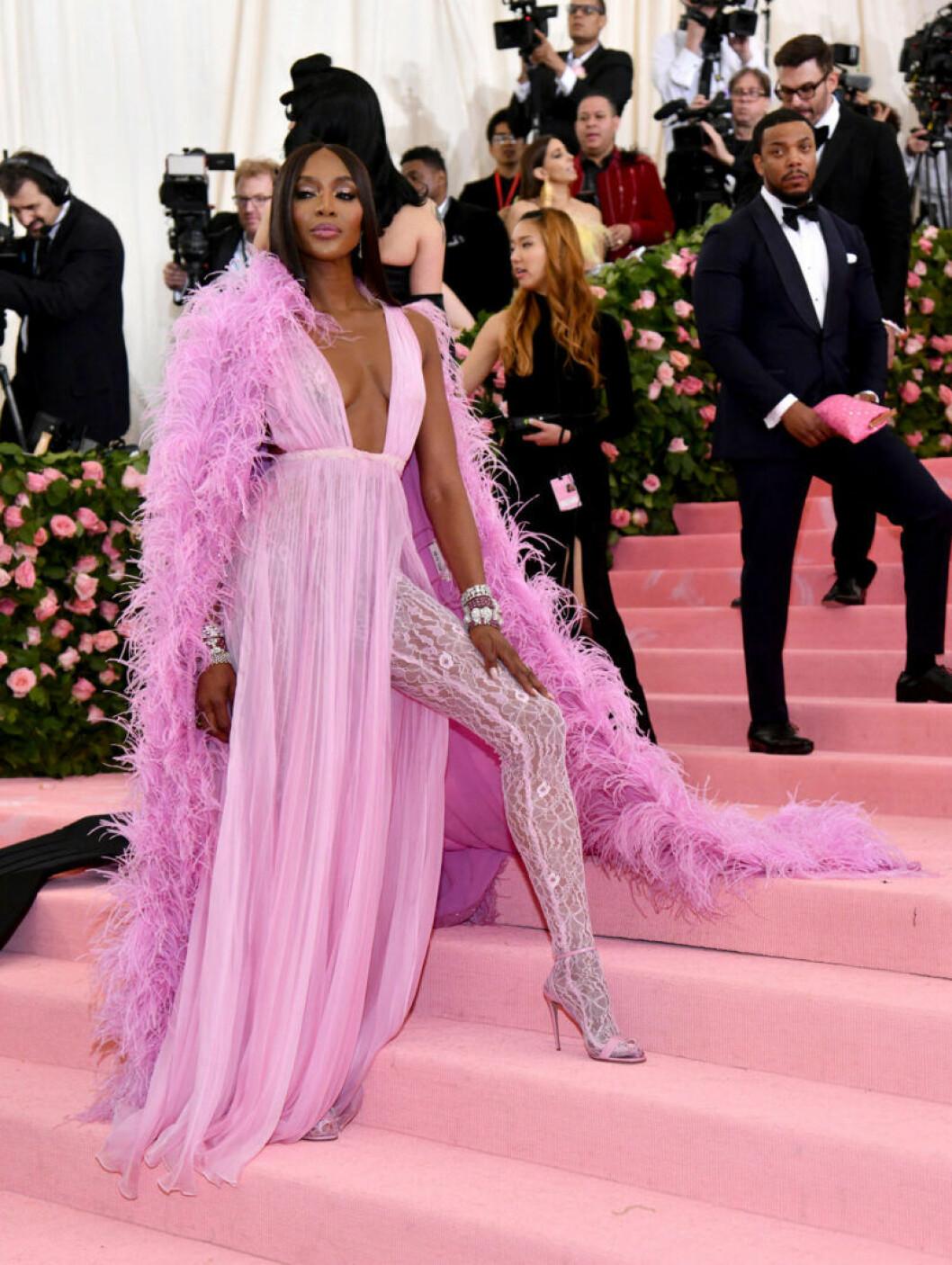 Naomi Campbell på röda mattan