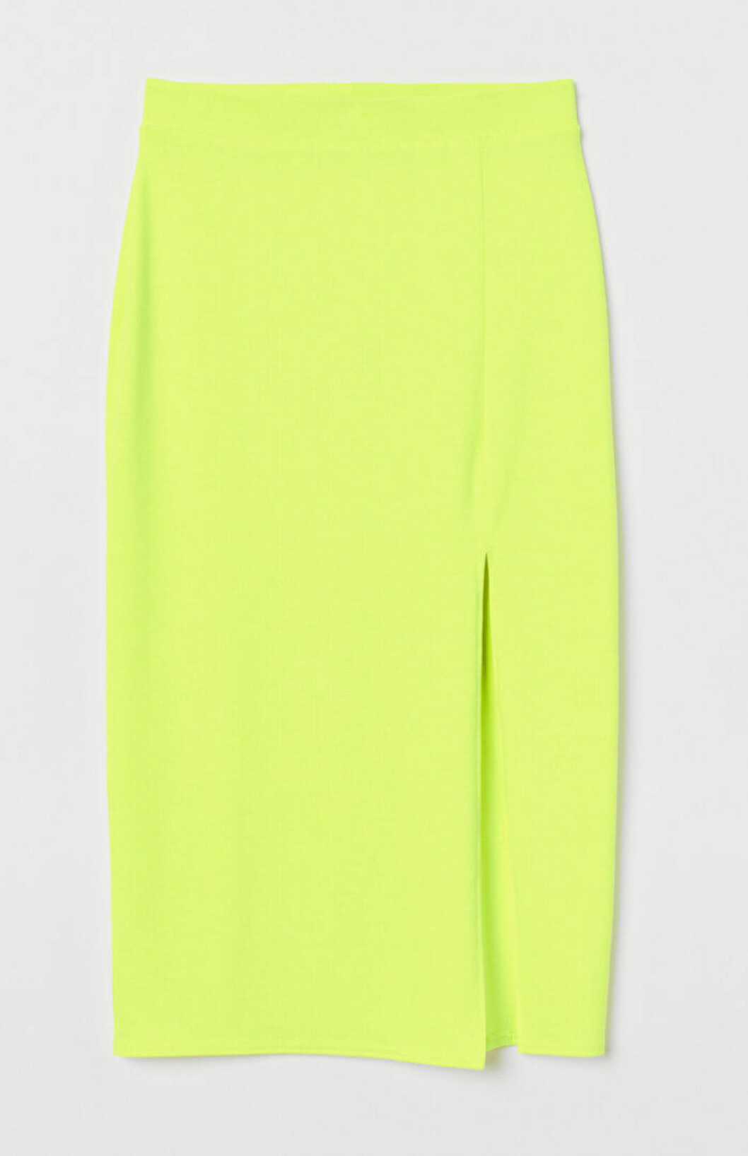 Neongrön pennkjol för dam till 2019