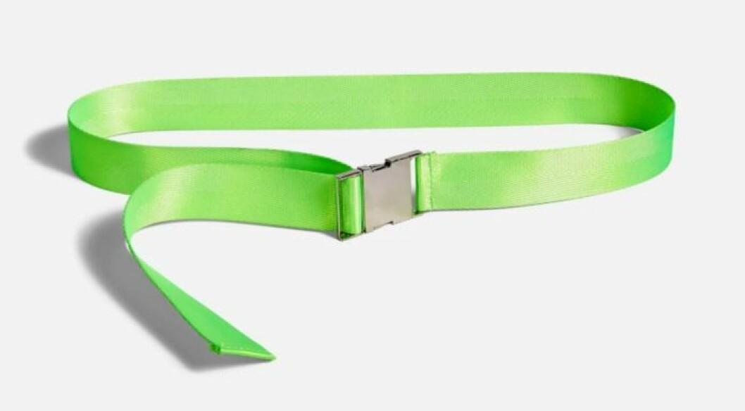 Neongrönt skärp för dam till sommaren 2019