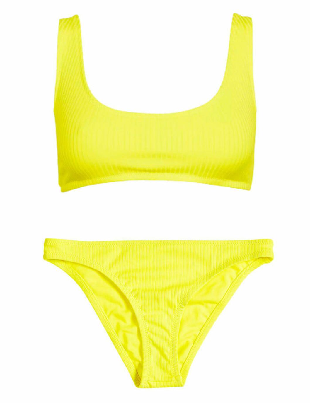 Neongul bikini från Cubus för dam till 2019