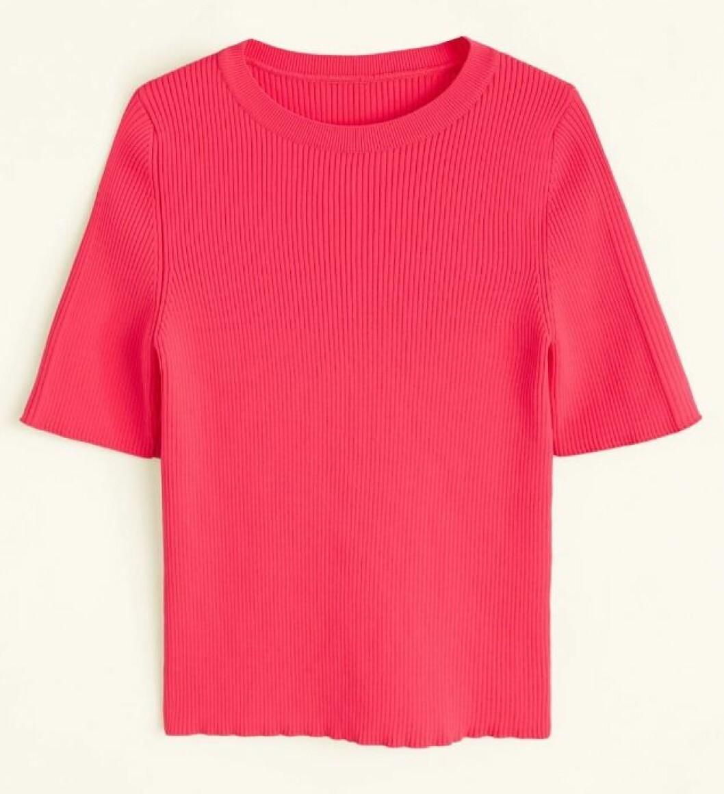 Neonrosa t-shirt för dam till 2019