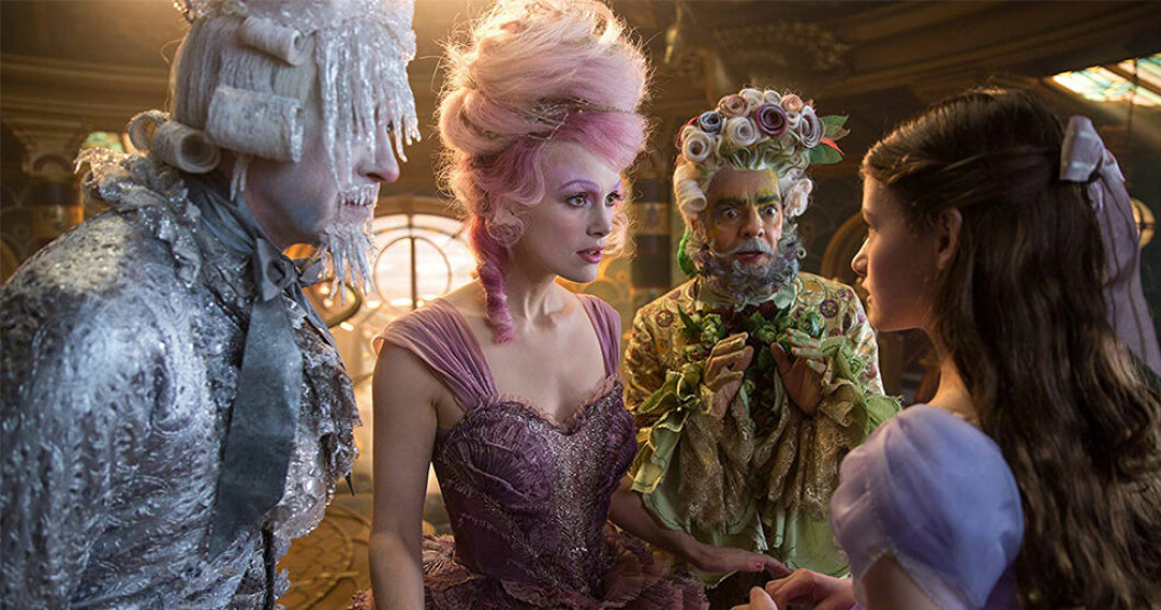 Nötknäpparen och de fyra världarna (The Nutcracker and the four realms) har premiär i november.