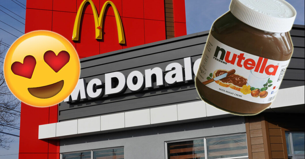 Nutella-hamburgare-Mcdonalds